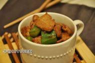 酱香肉片炒椒的做法步骤8