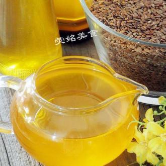 自榨亚麻籽油