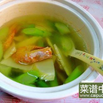 冬笋虾干汤