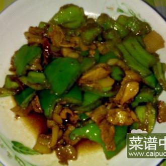 圆椒炒猪肉