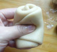 豆沙蛋黄酥的做法步骤22