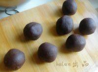 豆沙蛋黄酥的做法步骤7