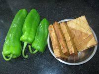 青椒豆腐干的做法步骤1