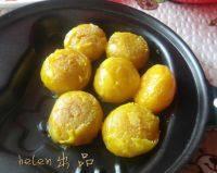 豆沙蛋黄酥的做法步骤5