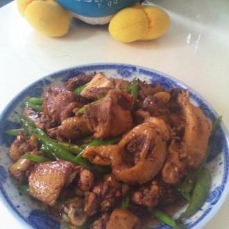 辣椒炒鸡块