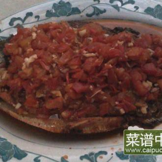 茄汁红烧白鲳鱼