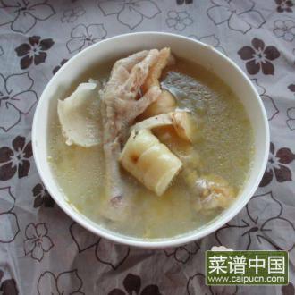粉葛竹腐汤