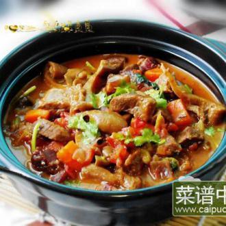 菌菇炖牛肉