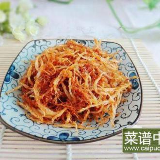 萝卜鲊蒸银鱼