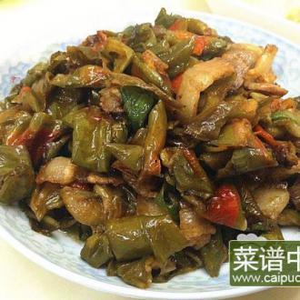 辣椒干炒肉