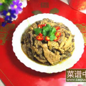 小酥牛肉蒸碗