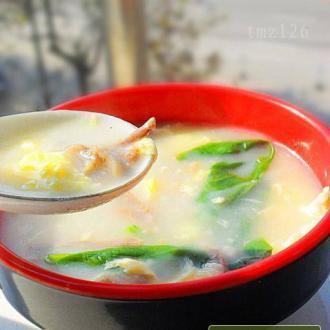 排骨肉鸡蛋汤