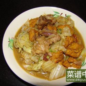 排骨白菜烧豆腐