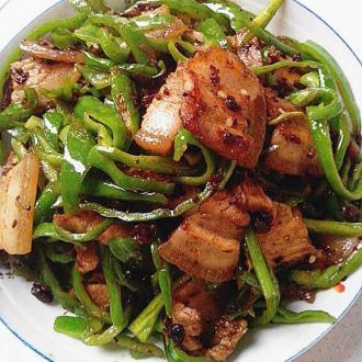 双椒烩锅肉