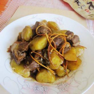 虫草土豆排骨肉