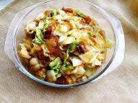 白菜肉片炖粉皮的做法步骤9