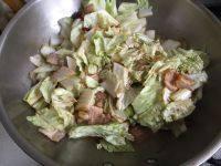 白菜肉片炖粉皮的做法步骤5