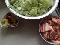 白菜肉片炖粉皮的做法步骤2
