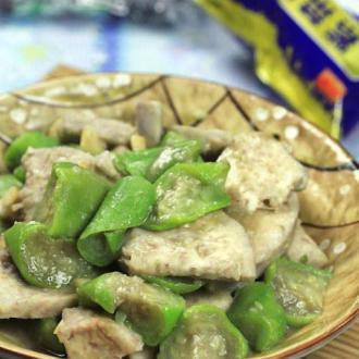 家乡菜--水瓜焖芋头
