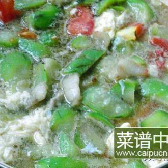 水瓜肉丝汤