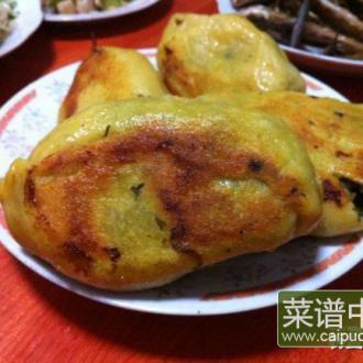 雪里红海鲜菜饼子