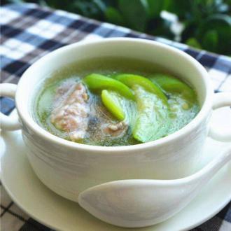 水瓜肉片汤