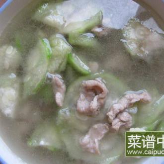 瘦肉水瓜汤