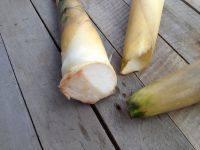 孔雀开屏笋蒸虾的做法步骤5