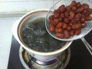 红豆小枣黑芝麻汤的做法步骤5