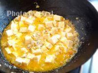 蟹粉豆腐的做法步骤10