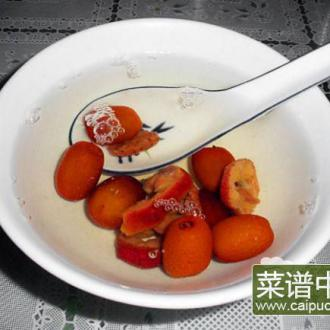 小枣山楂茶