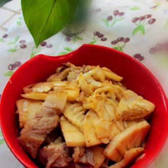 鲜笋炒肉片