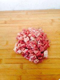 酱肉萝卜包子的做法步骤2