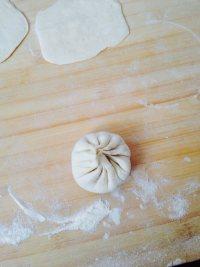 酱肉萝卜包子的做法步骤10