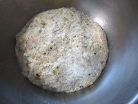 韭菜鱼滑豆腐馅饺子的做法步骤5