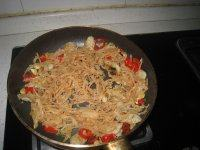 鱼青炒凉瓜干的做法步骤8