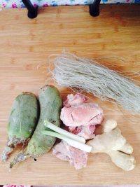 酱肉萝卜包子的做法步骤1