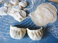 韭菜鱼滑豆腐馅饺子的做法步骤7