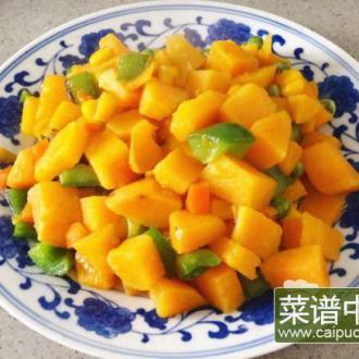 红薯烩杂菜