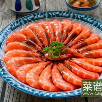 白灼虾#非转基因金龙