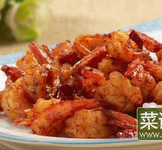 香辣蒜香虾