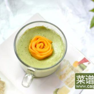 抹茶芒果花双皮奶