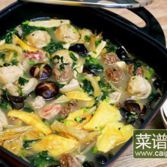 六合头道菜(烩三鲜)
