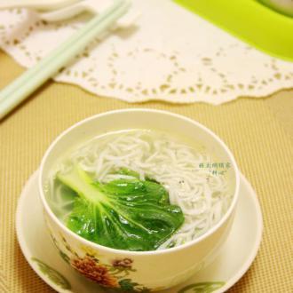 银鱼青菜汤