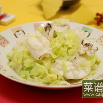 墨鱼炒椰菜