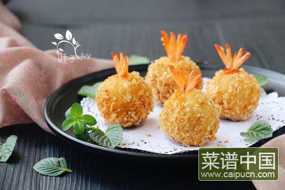 凤尾虾球#非转基因金龙鱼黄金比例调和油#