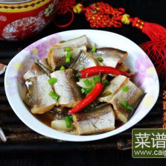 砂锅海鳗鱼干煲