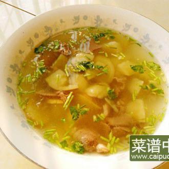 清炖羊肉土豆