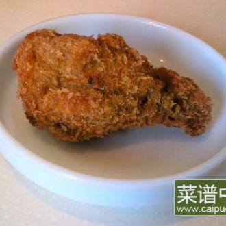 黑椒香炸鸡翅