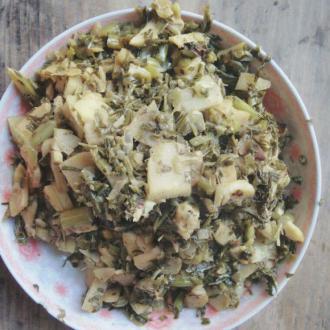 酱香竹笋炒酸菜